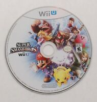 Nintendo Wii U Super Smash Bros, Mario Luigi Pikachu Donkey Kong, 2014 Disc only