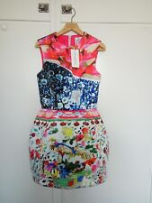 Mary Katrantzou for Topshop silk dress small