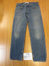 used Levi 559 relaxed straight fit jean tag 33x32 meas 32x30 zip14033