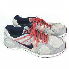 low priced c8bbf baf1f Nike Anodyne DS Flywire Grey Red Mens Running Shoes 538415-007 Size 15   49.5