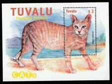 TUVALU CATS 2000 Mi.Bl.80 MNH SOUVENIR SHEET