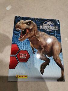Jurassic World Official Panini Sticker Album - SALE GRAB A BARGIN!!!