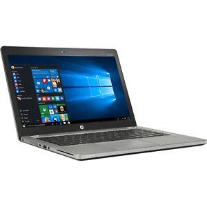 "HP EliteBook Folio 9470M i7 3667U 8GB 180GB SSD WEBCAM WIFI BT DP WIN 10  14"""