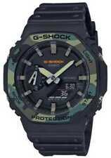 Casio G-Shock Carbon Core Guard 45,4mm Caja Resina y Fibra Carbono, Correa Resina, Reloj para Hombre - (GA-2100SU-1AER)