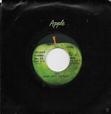JOHN LENNON  Instant Karma / Who Has Seen  original 45 on APPLE label  BEATLES