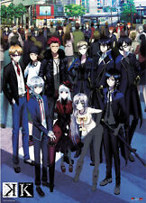 K Project Wall Scroll Poster Anime Manga MINT