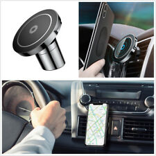 Car Qi Fast Wireless Magnetic Charger For iPhone Samsung Car Phone Holder Stand