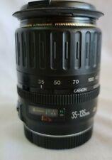 Canon Zoom Lens EF 35-135mm EF 1:4-5.6 Ultrasonic Camera Lens W/Covers