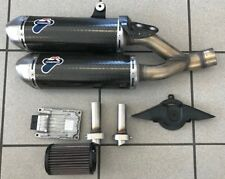 Genuine Ducati Monster 1100 Termignoni Carbon Slip-On Exhaust 96458811B USED!