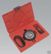 SEALEY TOOLS Vacuum Fuel Pump Pressure Testing Gauge Set Tool Kit In Case