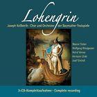 CD Lohengrin von Richard Wagner 3CDs Chef d'orchestre Joseph Keilberth,Bayreuth