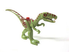 LEGO 5887 - DINO - Olive Green Dino Coelophysis with Dark Red Markings Figure