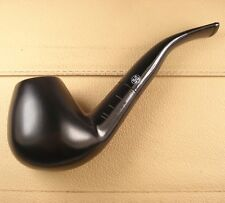 New Black Natural Ebony Wood Smoking Tobacco Pipes 9mm Filter Nice Gift SW3164