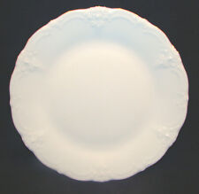 "Hutschenreuther Baronesse Gold White China Plate 8 1/4"" MINT #9"