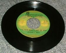 "45rpm~RILEY,Jeannie C.~I'll Take What's Left Of You♫Vinyl 7"" Record45"