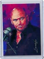 MAR1 MMA UFC Dana White #1  Art Sketch Card Hand Signed by Artist 18/25