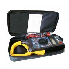 AC / DC Digital LCD Clamp Multimeter Voltage Ampere Resistance Meter Data Hold
