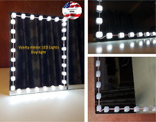 Hollywood Style Vanity Mirror Lights Makeup Mirror Lights Anti-Glare Luxurious L