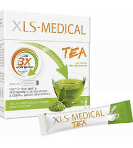 XLS-Medical Tea - Reduce Calorie Intake from Dietary Fats - 30 Sachets - 10 Days