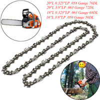 12''/15'/16''/18''/20''/22'' Universal Chainsaw Chain Blade Replacement Saw Part