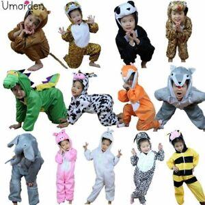 Halloween Children Kids Cartoon Animal Costume Costumes Cosplay for Boy Girl