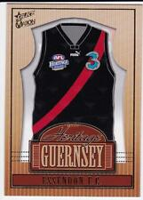 2004 Select Ovation Heritage Guernsey Card  - Essendon