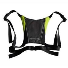 LED Bike Light USB Rechargeable Cycling Vest Direction Indicator Reflective Bag