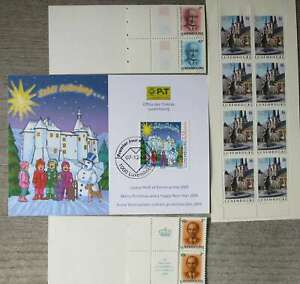 LUXEMBURG  NICE  COLLECTION MNH ** 3 BOOKLETS /Po447