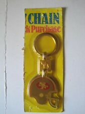 Vintage 1988 San Francisco 49ers Football Camel Tobacco Key Chain New In Package