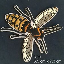 Busy Bee Iron on patch sweet honey bees insect fly embroidery iron-on patches