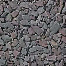 Decorative Aggregates Plum Slate Chippings 40mm 25kg Bag