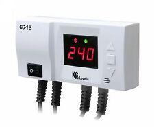 Temperatur Differenzregler Steuergerät CS-12 für Pumpe und Kessel