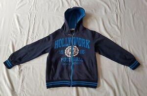 NEXT STAR Jacke mit Kapuze blau Größe 134 gebraucht