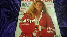 GLAMOUR MAGAZINE OCTOBER 1989 - NIVEA MODEL NUDE NUDITY CONTROVERSY OBSESSION !!