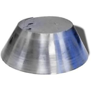 6T-SC 6-Inch Stainless Steel Storm Collar Ducting HVAC