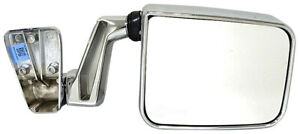 FITS 1987-1995 JEEP WRANGLER PASSENGER RIGHT CHROME MANUAL DOOR MIRROR