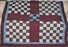 Early Patchwork Quilt c1870 Civil War Era