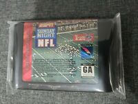 ESPN SUNDAY NIGHT NFL - SEGA GENESIS (Cartridge Only)