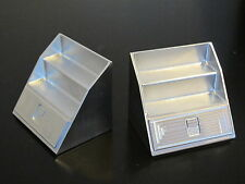 Pair Aluminum Side Step Style Tool Box Tamiya 1/14 King Knight Grand Hauler Man