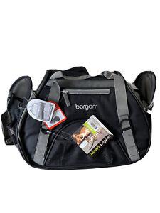 Bergan Pet Comfort Carrier Travel Bag Airline Compatible Black/ Black Small
