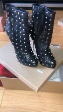 Christian Louboutin Boots With Spikes Size 39.5 Uk 6 1/2