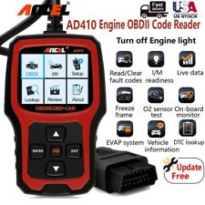 ANCEL AD410 Universal EOBD Automotive Car Code Reader Check Engine Scanner Tool