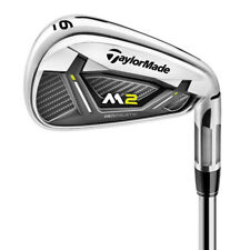 TaylorMade M2 Irons Steel Shafts 2017 Left Regular Reax 88 HL 4-pw SW