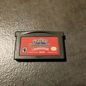 Pokemon Mystery Dungeon Red Team Rescue Authentic Nintendo Game Boy Advance GBA