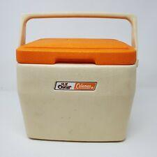 Vintage Coleman Lil Oscar Cooler with Orange lid Used Htf 5272 Canada