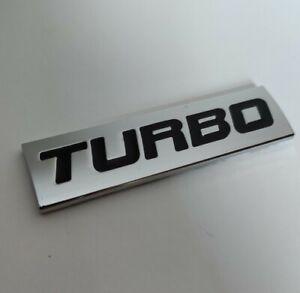 Noir Argent Métal Turbo Badge Emblème pour Lotus Élise Elan Evora Europa Esprit