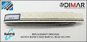 Replacement Original Watch Band Casio Baby-G BGM-101-H9V
