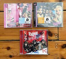 BRATZ – 2 X RARE JAPAN CD'S PLUS SIGNED CD – LOOK AROUND & SHOW ME WHAT YOU GOT