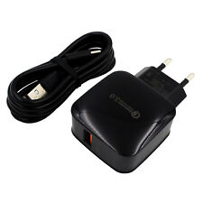 EU QC 3.0 Quick Charger Adapter USB Data Cable For LG Nexus 5X Lenovo ZUK Z1
