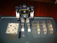 GENUINE Transformers Masterpiece MP-02 TRU Soundwave + 9 ENERGON CUBES!